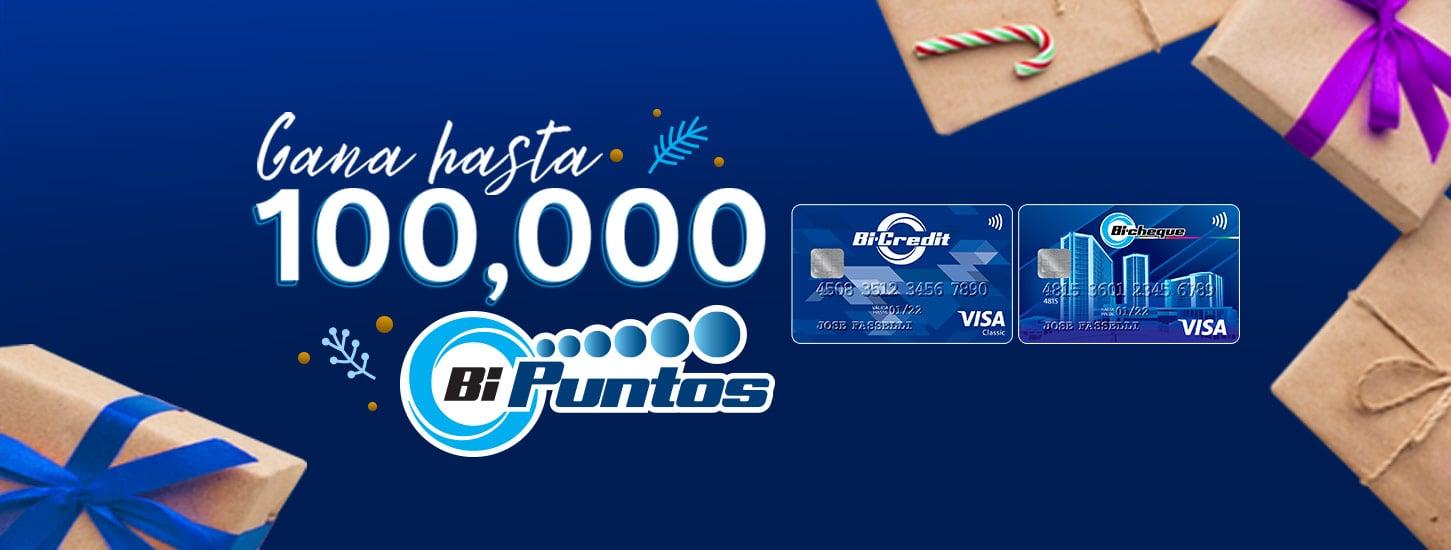 100,000 Bi Puntos Banco Industrial