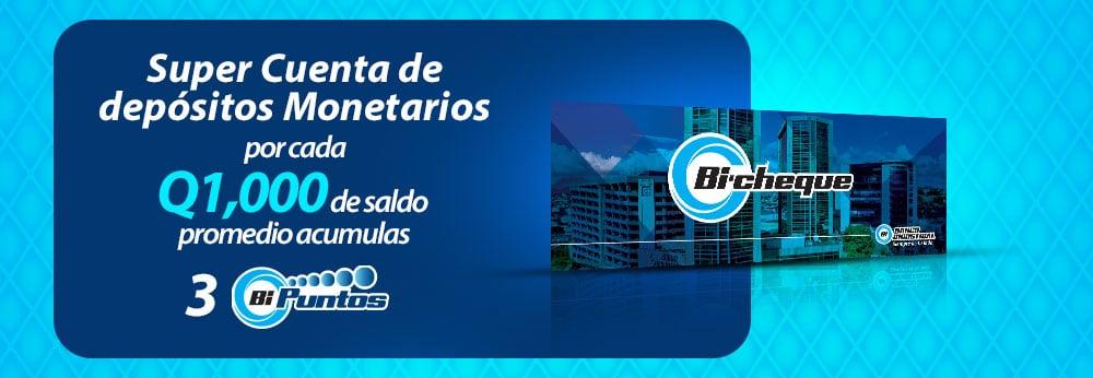 Acumulación Bi Puntos Banco Industrial