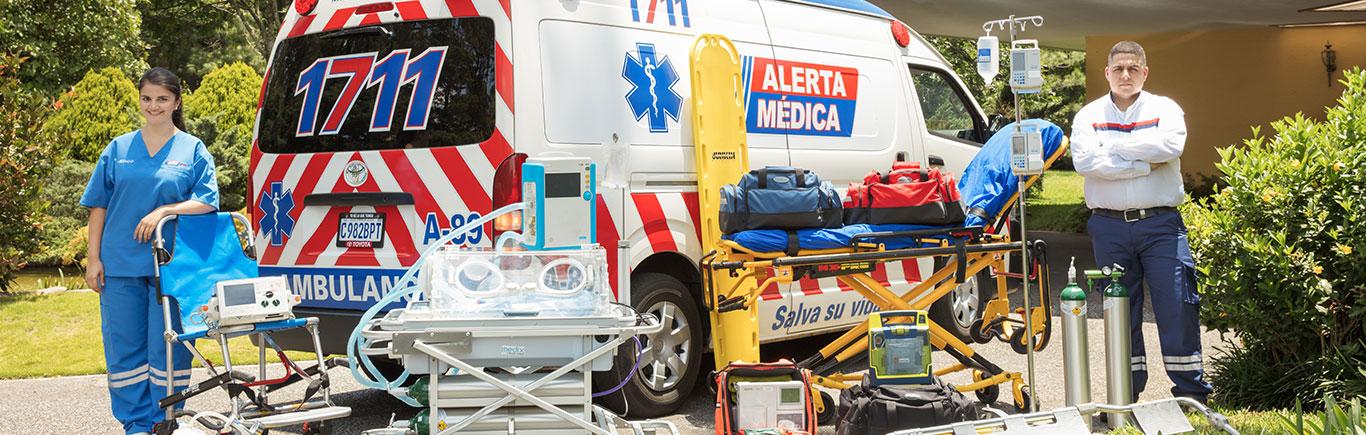 Ambulacia de soporte vital avanzado - Alerta Médica