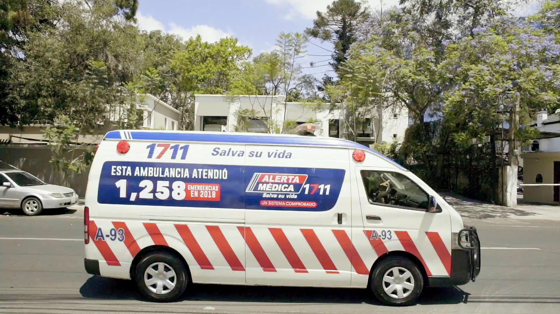 DALE PASO A LA AMBULANCIA ALERTA MEDICA BANCO INDUSTRIAL