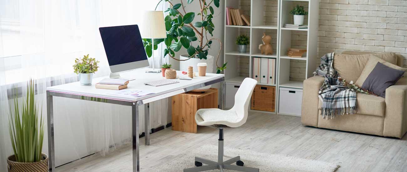 Consejos para remodelar la casa y convertir un espacio en oficina