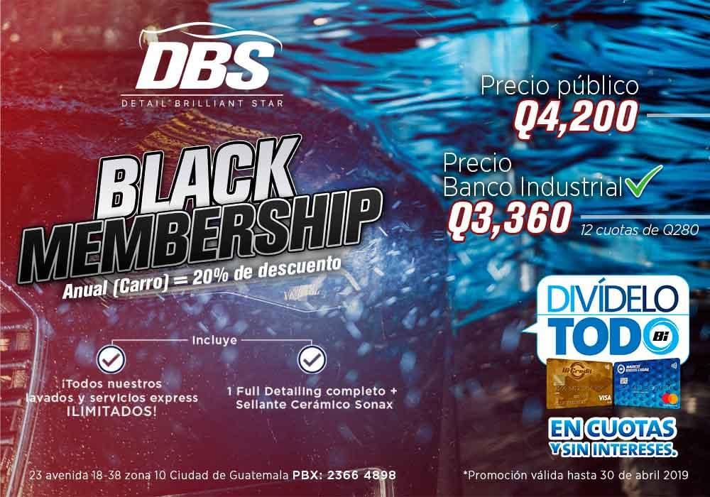 DBS BLACK   BAJA