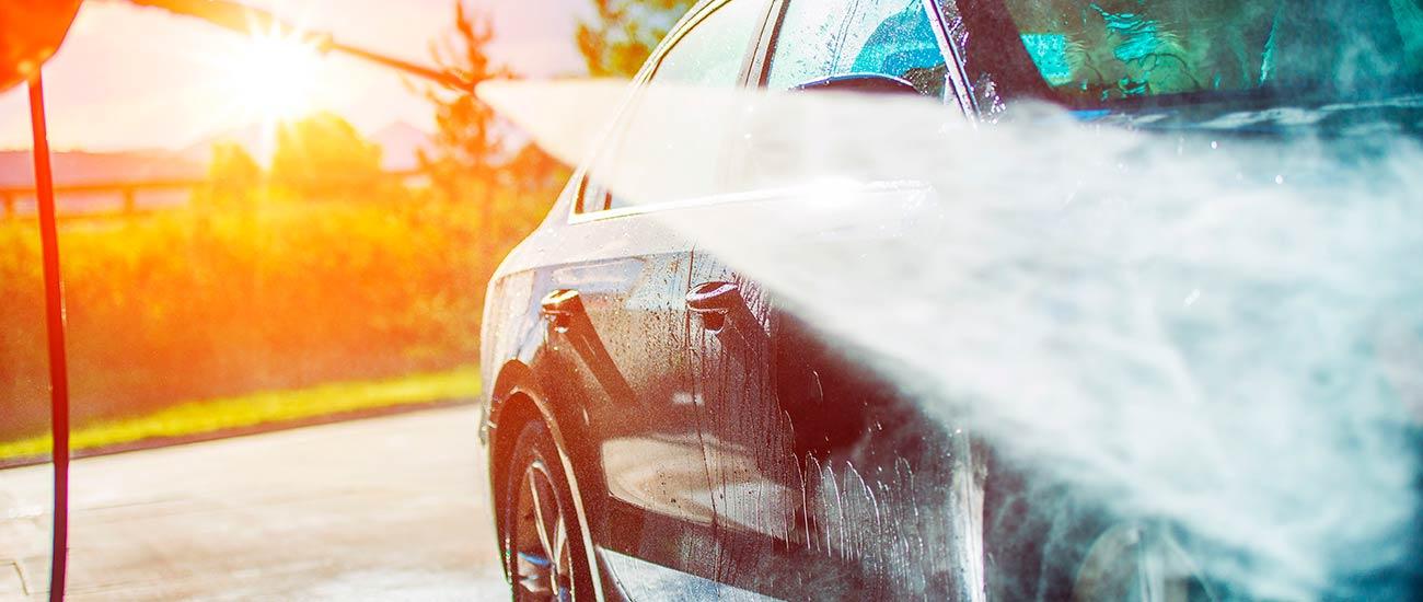 Promocion car wash El Roble
