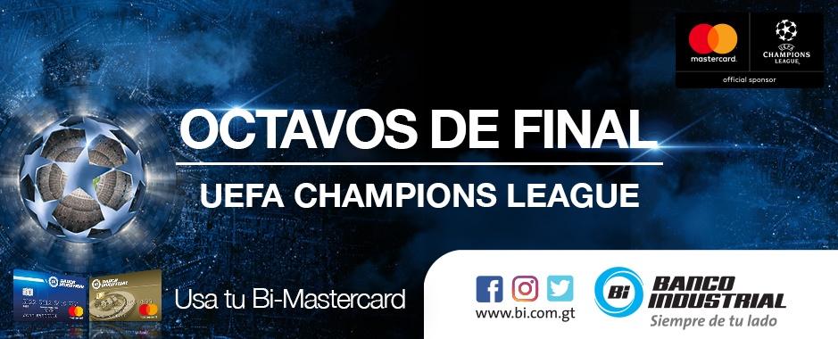 UEFA Bi Mastercard Banco Industrial