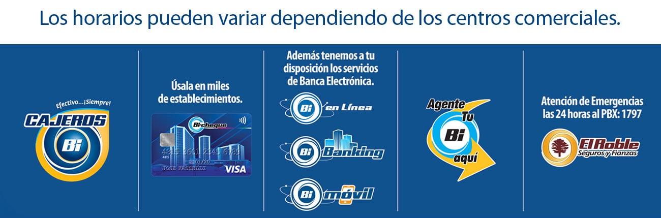 Horarios 1 Noviembre Banco Industrial