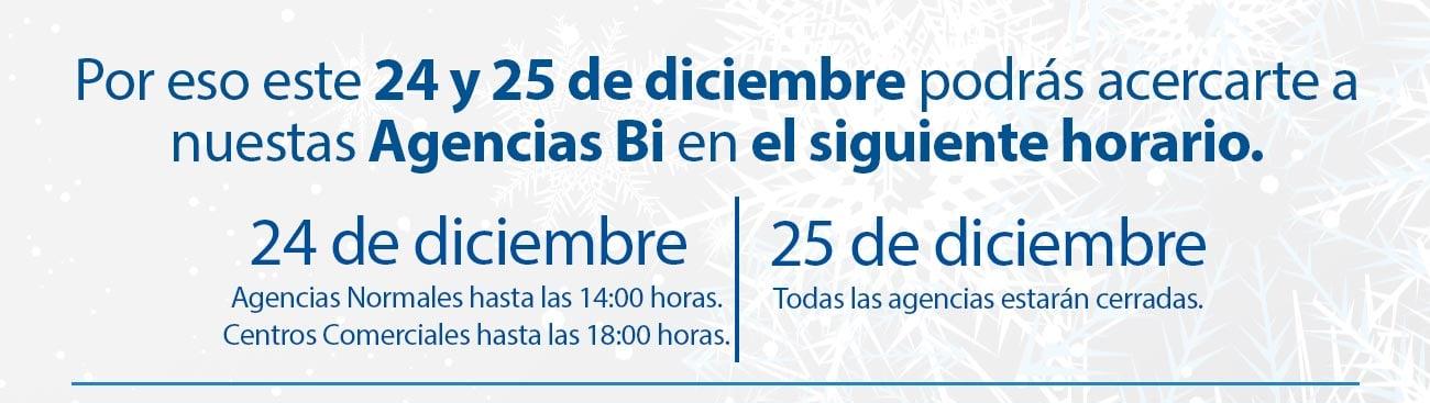 Horario de atención Navidad Banco Industrial