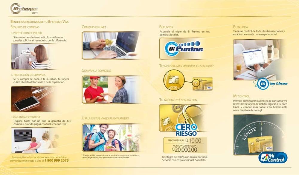 Bi-cheque Oro - Banco Industrial