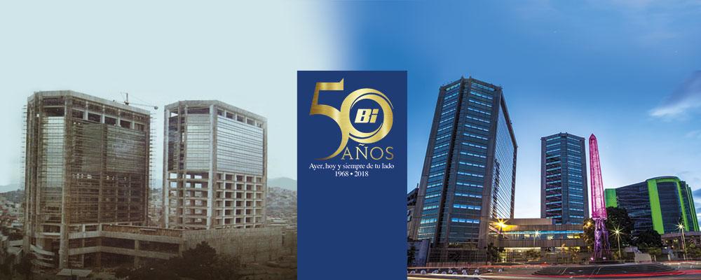 50 años Banco Industrial