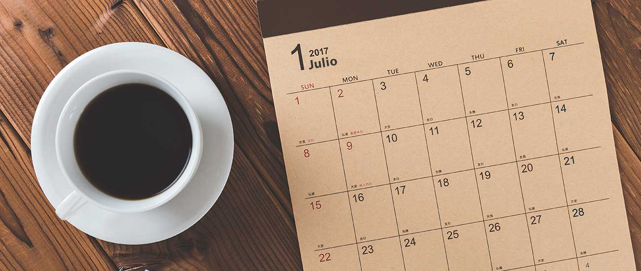 Calendario SAT Julio 2017 - Banco Industrial