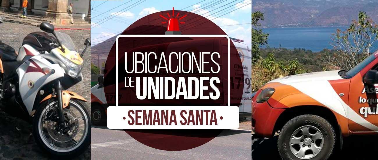 UBICACIONES SEMANA SANTA SEGUROS EL ROBLE