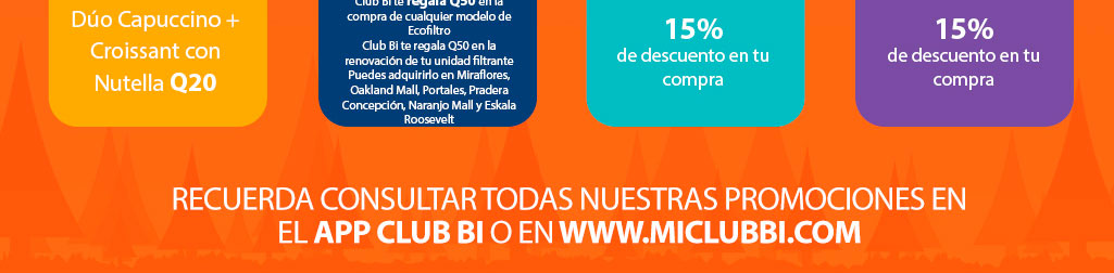 Promociones Club Bi - Banco Industrial