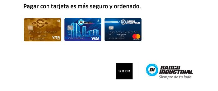 Promoción Uber y Banco Industrial