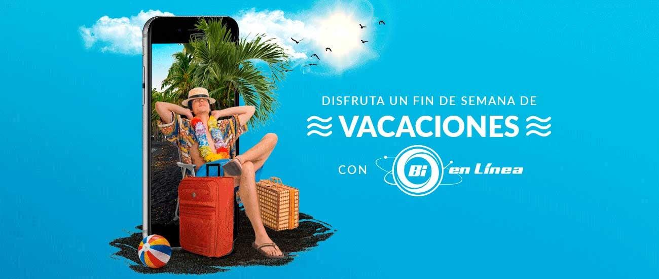 Vacaciones Bi en Línea - Banco Industrial