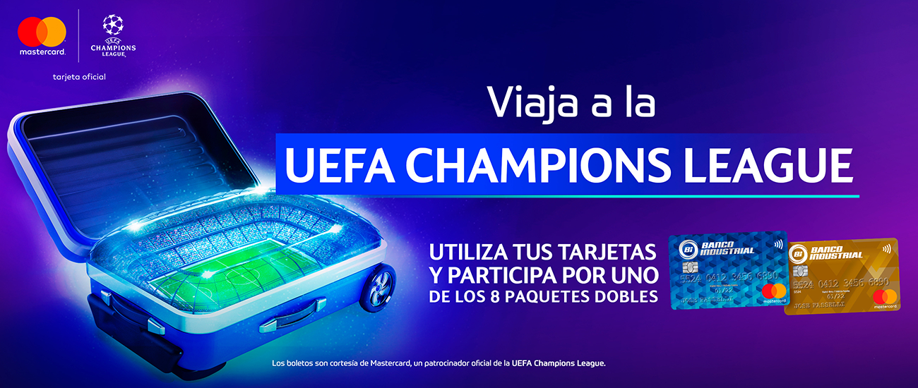 UEFA Champions League - Banco Industrial
