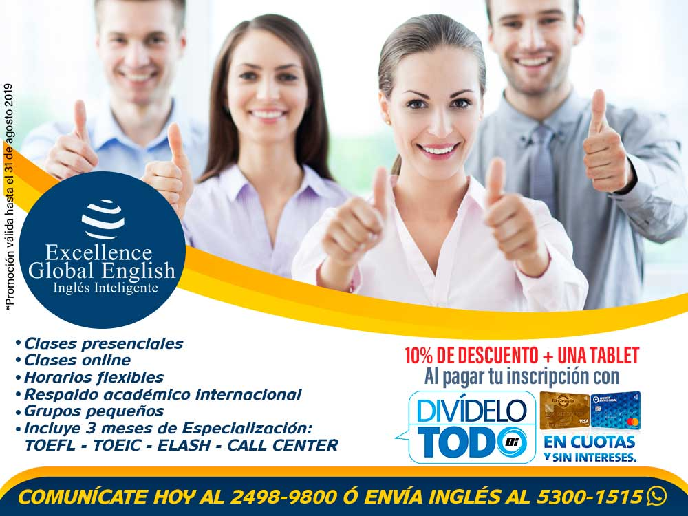 EXCELLENCE GLOBAL ENGLISH