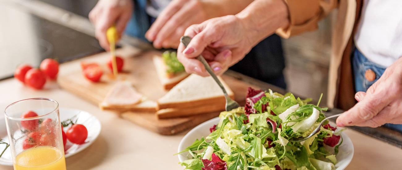 Recomendaciones nutricionales estando en casa