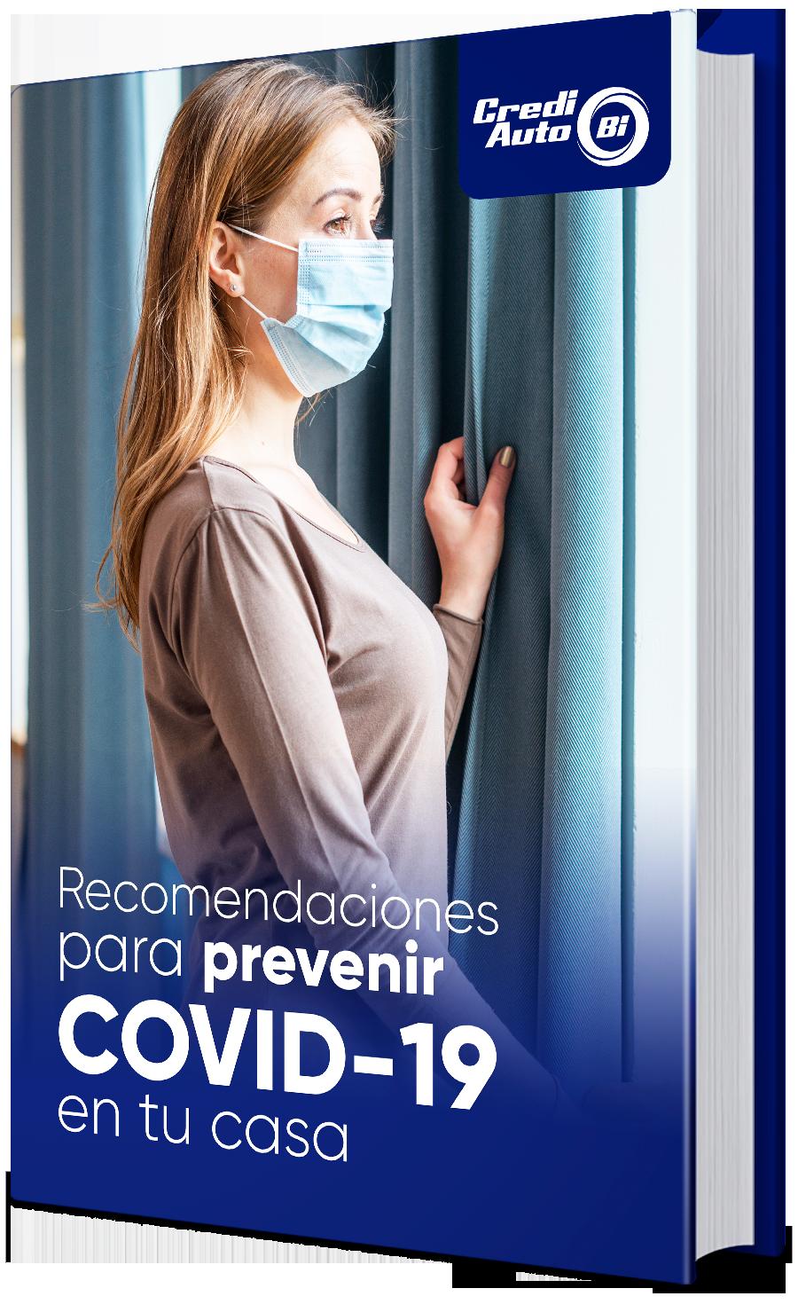 Guía de recomendaciones para prevenir COVID-19 en tu casa
